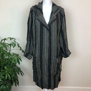Urban outfitters BDG oversized linen coat